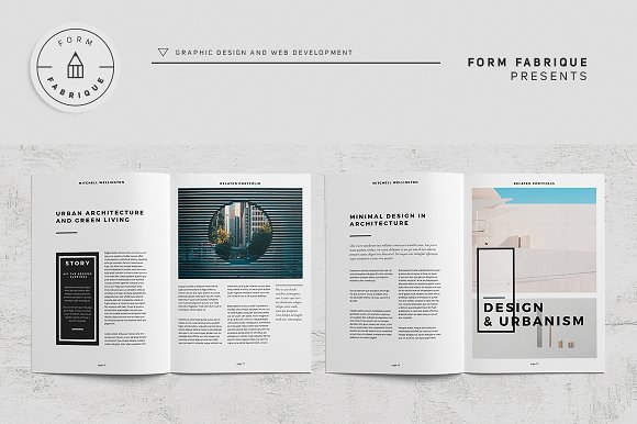 Related Portfolio in Brochure Templates - product preview 11