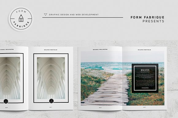 Related Portfolio in Brochure Templates - product preview 12