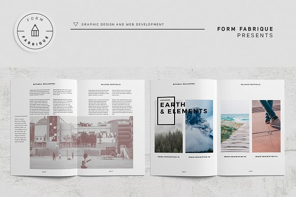 Related Portfolio in Brochure Templates - product preview 14