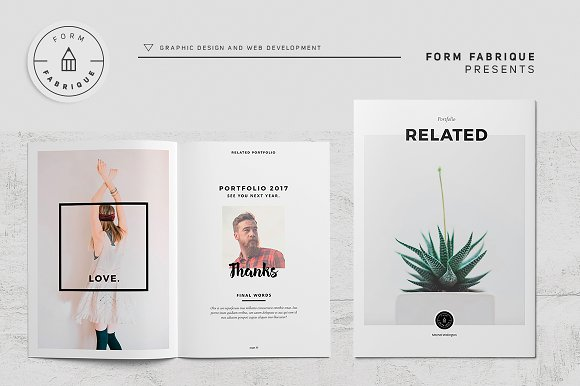 Related Portfolio in Brochure Templates - product preview 16