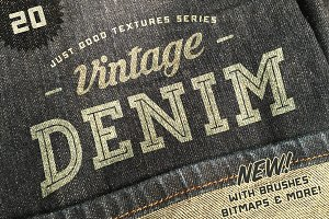 Just Good Textures - Vintage Denim