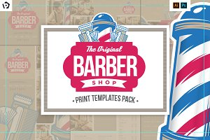 Barbers Shop Templates Pack