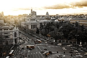 General view of Madrid