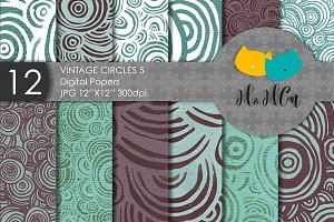12 Vintage patterns