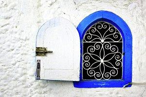 Window in Asillah Morocco