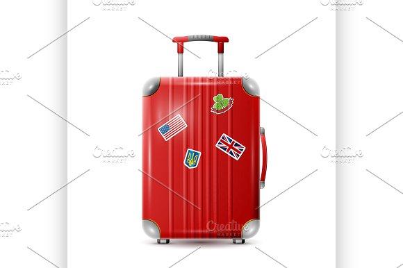 Large Polycarbonate Suitcase