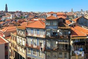 Porto city (Portugal).