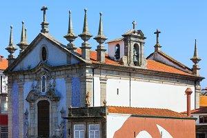 Church of St. Nicholas in Porto.