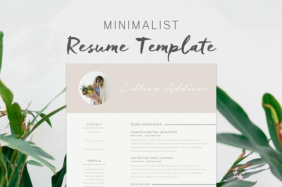 Resume Template Lillian