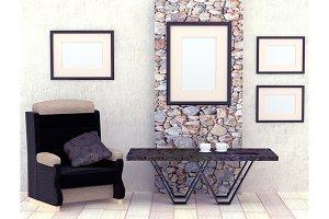 Mocap interior living room