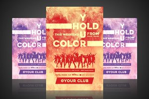 Hold Your Color - Flyer