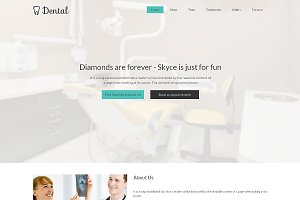 Dental Responsive One Page Theme