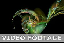 Colorful figure abstract loop motion background