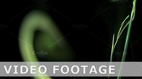 Colorful green pattern abstract motion background