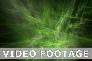 Green nebula pattern abstract motion background