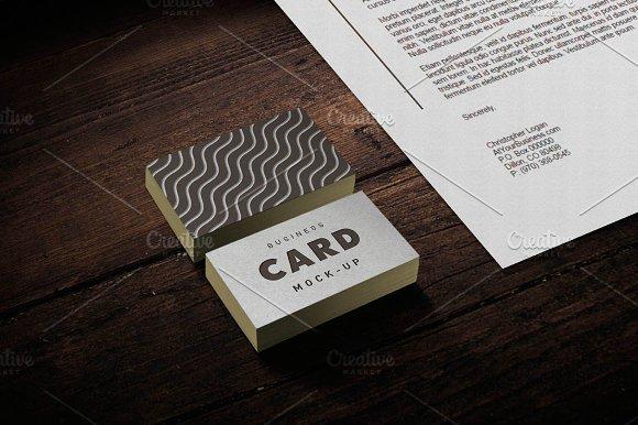 Business Card / Stationery Mockup