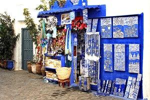 Blue Shop on Asillah Morocco