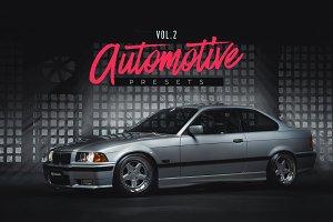 Automotive Lightroom Presets Vol.2