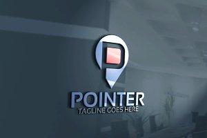Point Logo / P Letter Logo
