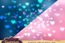 Bokeh Valentine Creation Kit