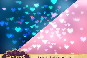 Bokeh Valentine Creation Kit