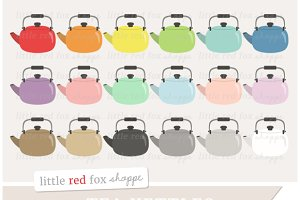 Tea Kettle Clipart