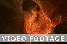 Hot fire pattern abstract motion background