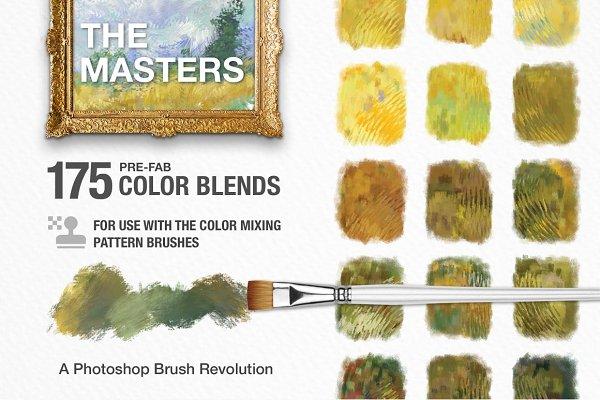 Palettes: Creators Couture - Impressionist Masters Color Blends