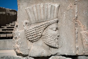 Ancient warrior of Persepolis