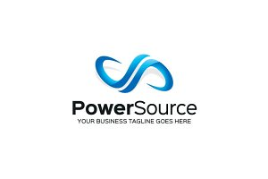 Power Source Logo Template