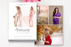 Maternity Mini Session Template