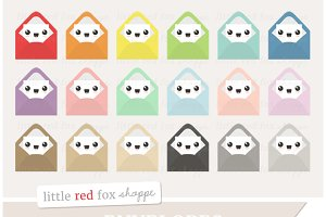 Kawaii Envelope Clipart