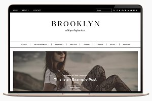 Wordpress Theme Brooklyn Responsive