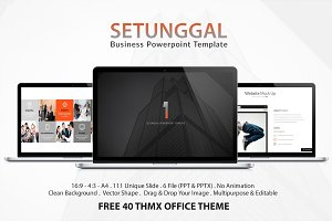 Setunggal Powerpoint Template