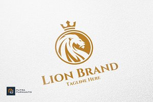 Lion Brand - Logo Template