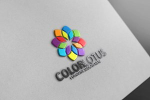 Color Lotus Logo