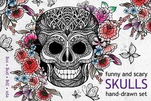 Sketch Skull Set