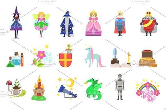 King, Prince and Princess And Related To Them Objects