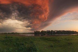 Before the storm at Desna River TIF