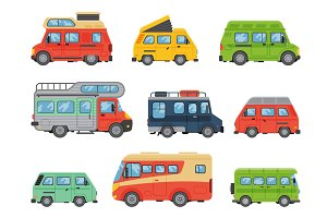 Vans vehicle vector illustration.