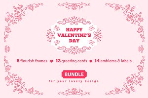 Bundle: Valentines