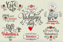 *7* Valentine's day LABELS