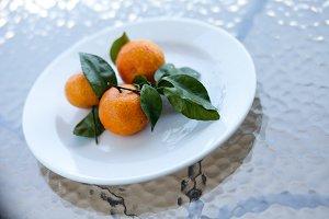orange tropical fruit