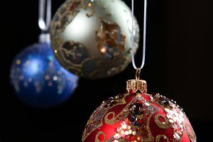 Christmas decoration color balls