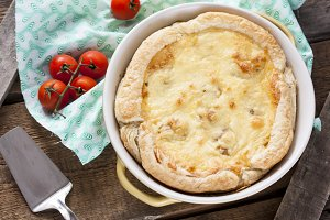 pie with cauliflower