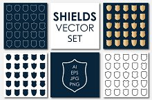 Vector Shields Big Set #2