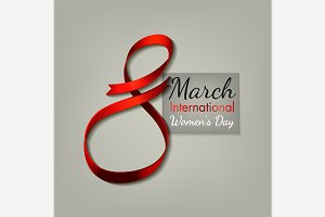 March 8 Ribbon Concept