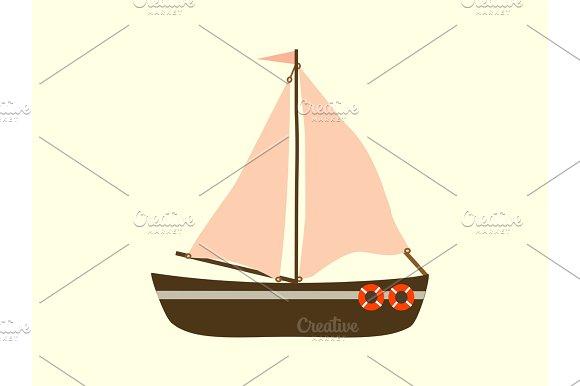 Sailing Yacht Sea Transport