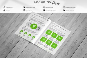 Brochure / Catalog Mock-Up