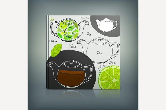 Tea Menu Cover Idea